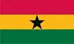 Ghana flag courtesy of FlagPictures.org