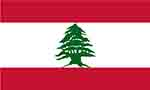 Lebanese flag (courtesy of FlagPictures.org)