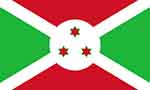 Burundi flag (courtesy of Wikipedia)