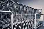 Steel shopping carts (courtesy of Pixabay.com)