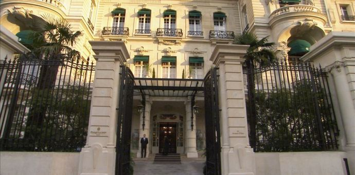 shangri-la-hotel-paris hotéis em Paris mais caros