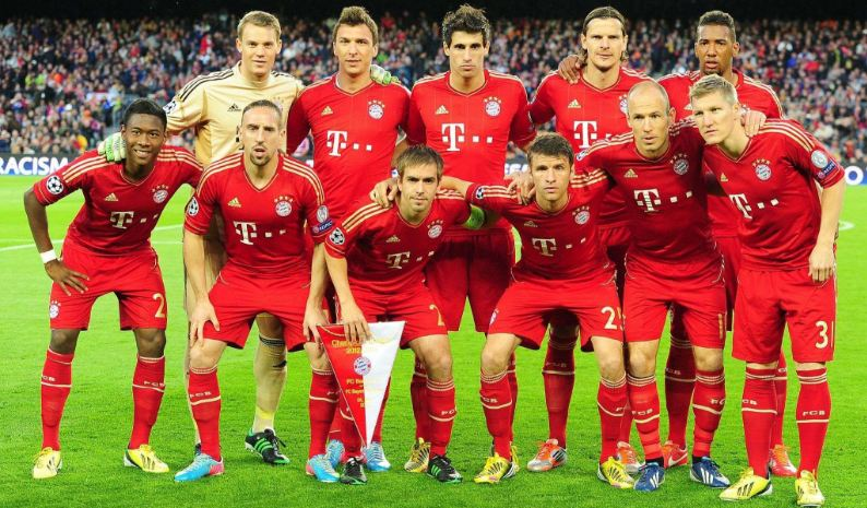 Image result for bayern munich squad 2017