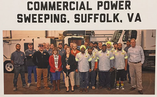Commercial Power Sweeping