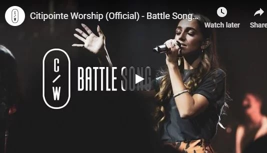 As the battle rages on – In the chaos You reign Song lyrics via @christianmedias