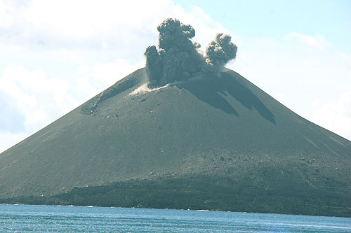 Krakatau and Ujung Kulon National Park Sunda Strait - Indonesia