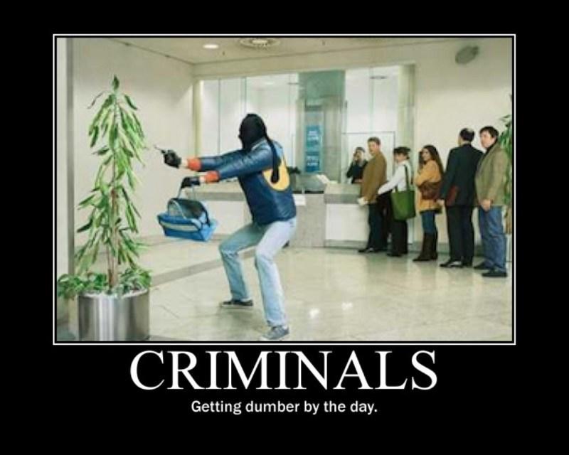 dumb criminals
