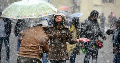 Indian Tourism Snowfall
