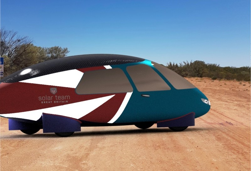 next generation solar powered electric cars