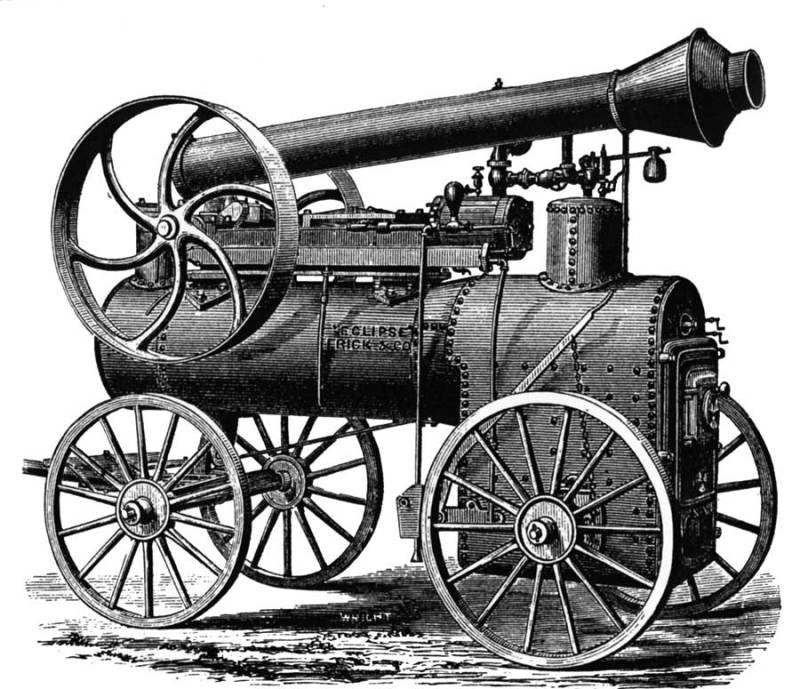 The Steam Engine is one of the World top 10 inventions