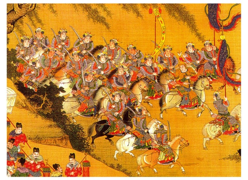 Qing Dynasty Conquest major war in world history