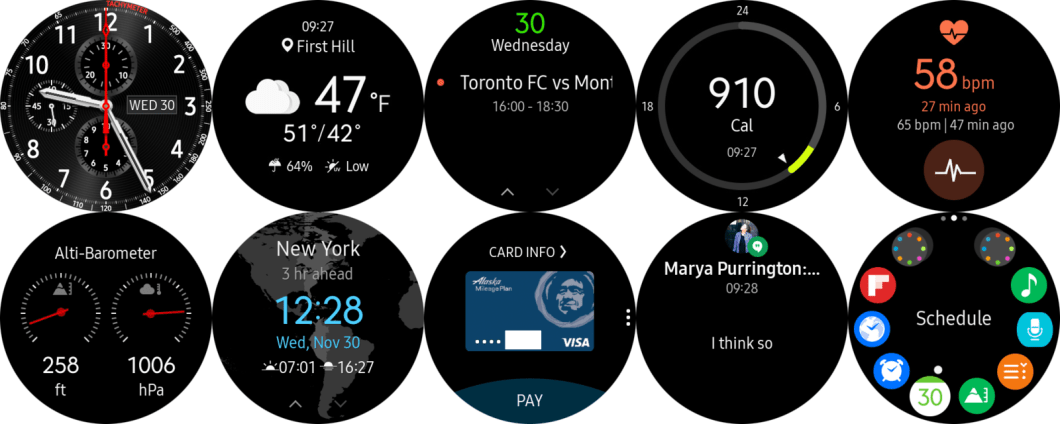 samsung gear s3 apps