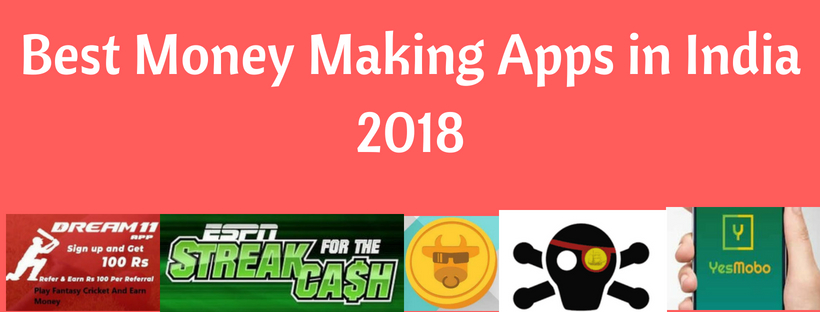 Best Money Making Apps in India