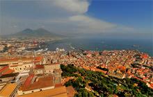 Castel Sant Elmo  Napoli Naples  Panorama 360