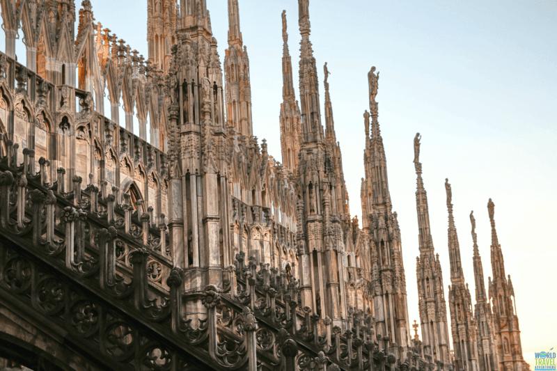 Milan Cathedral Duomo Di Milano Things to do in Milan Italy Tourism World Travel Adventurers