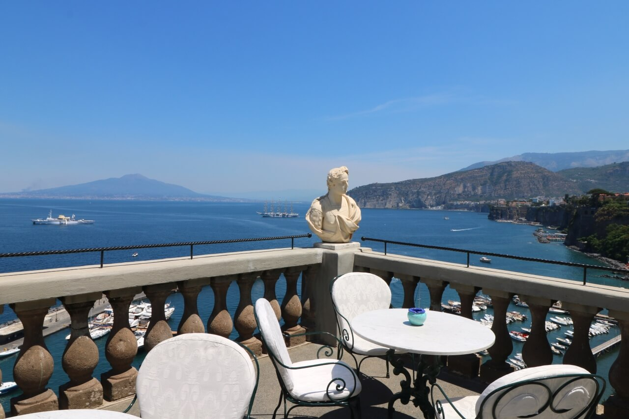 Review Of Grand Hotel Excelsior Vittoria Where To Stay In
