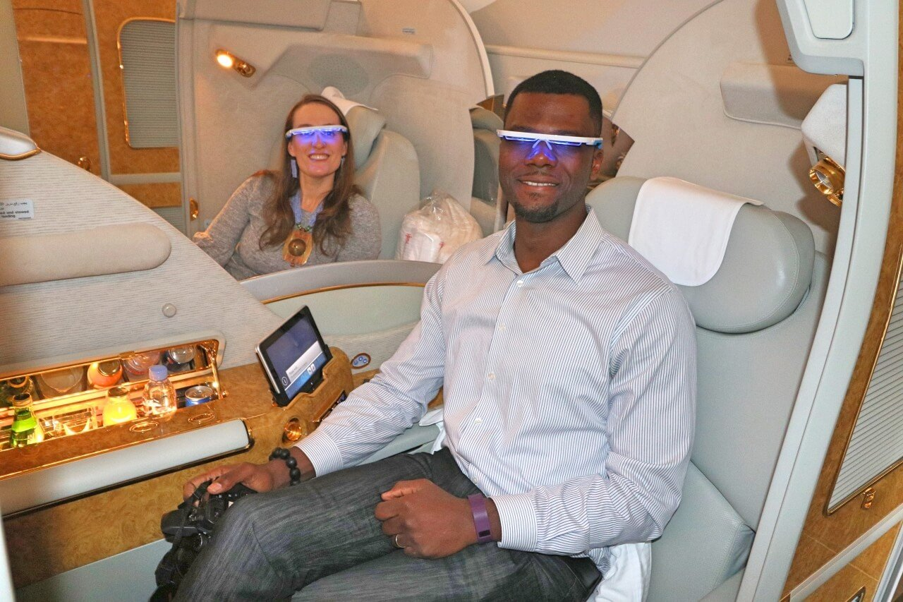 Beat Jet Lag With This Light Therapy Device Ayo Glasses