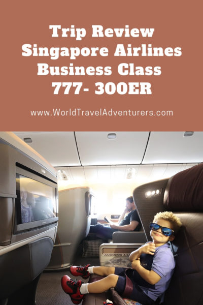 Trip Review Singapore Airlines Business Class 777 300ER