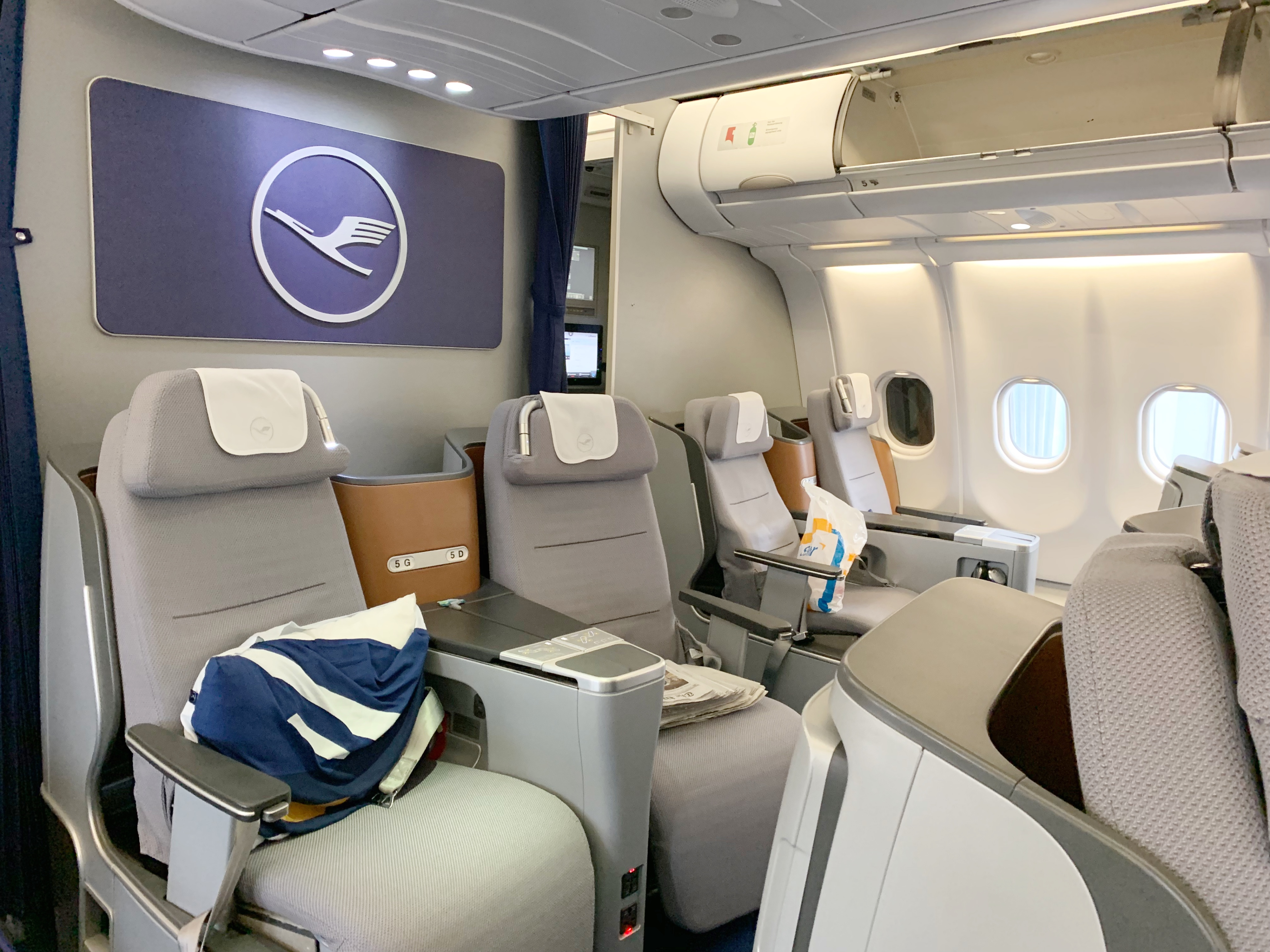Outstanding Lufthansa A330 Business Class Review Washington D C Iad Gmtry Best Dining Table And Chair Ideas Images Gmtryco