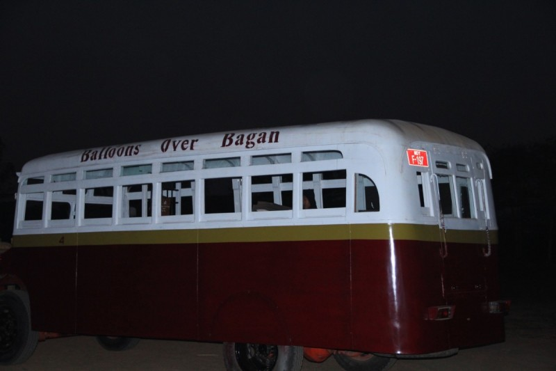 Balloons over Bagagan vintage buses