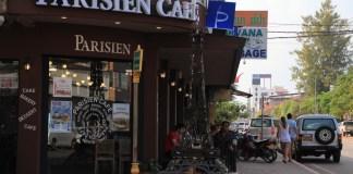 Vientiane Parisian cafe