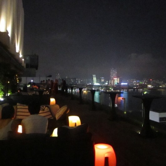 Sevva rooftop bar Hong Kong