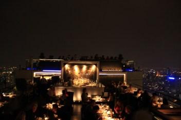 Moon Bar and Vertigo restaurant at Banyan Tree otel Bangkok