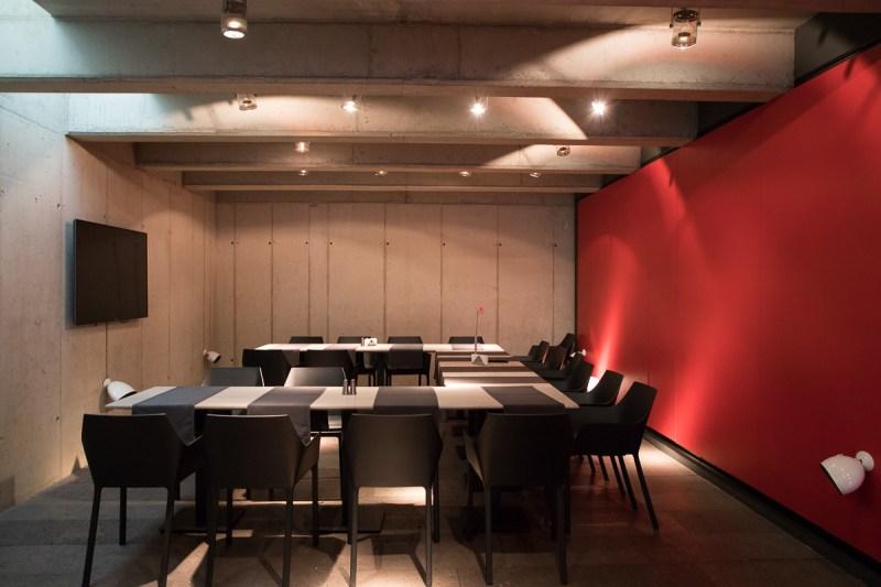 Privo Hotel wine cellar
