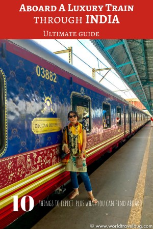 Indian luxury train Deccan Odyssey.     ndian Luxury train Deccan Odyssey All you need to know about an incredible journey with an Indian Luxury train like the Deccan Odyssey. What to expect, what you can find on board , how is it to travel by a luxury train to India and so much more #india #luxurytrain #trainjourney