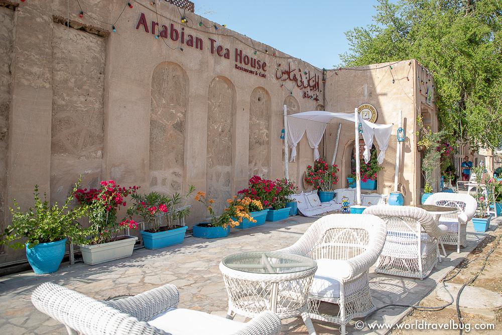 Dubai Arabian tea house