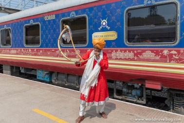 Indian Luxury train Deccan Odyssey