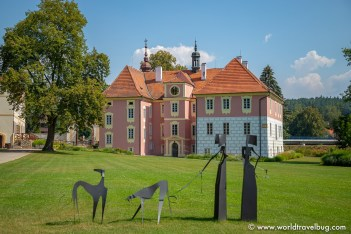 Mitrowicz Chateau, czech republic