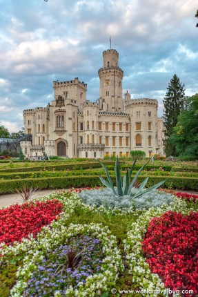 hluboka Castle , czech republic #czechrepublic #europe #europedestinations