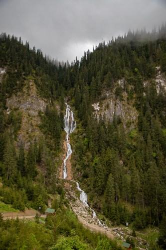 Horses Waterfall Borsa Maramures