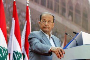 Michel Aoun. /EPA