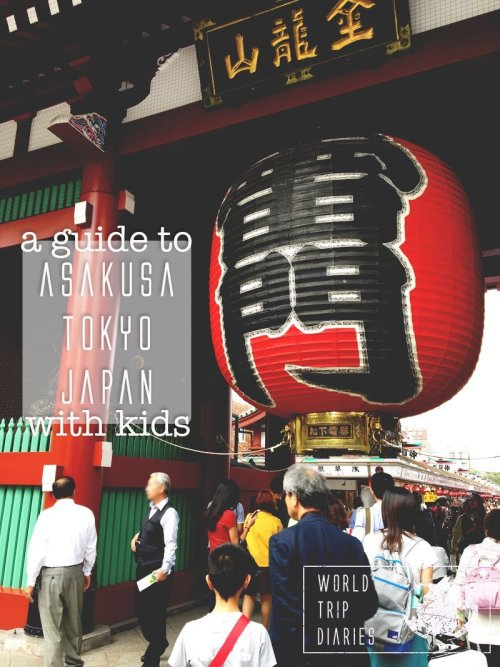 Asakusa is famous in Japan because of its temples - the biggest ones in Tokyo. We visited it with our kids. Click to know how it went!