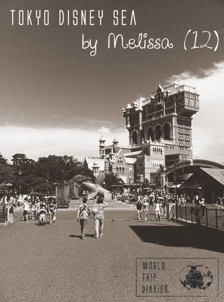 This is how Melissa (12) thought of our visit to Disney Sea Park in Japan.  Click to read it!