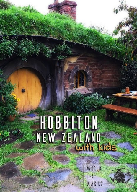 Hobbiton is one of the reasons a lot of people visit NZ, and well, it lives up to its name! What a wonderful place that is! Click to read how it was when we took our four kids there!