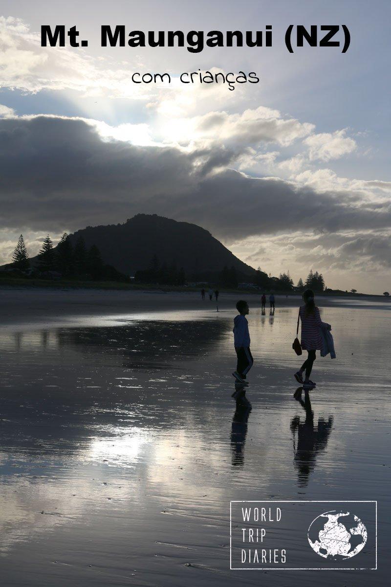 Mt Maunganui é uma cidade praiana na Ilha Norte da NZ. É linda, linda, linda! Clique para ler mais!