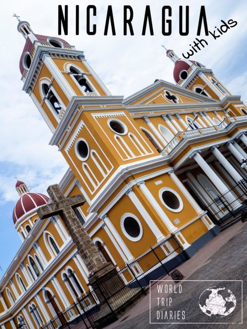 Nicaragua is an incredible country in Central America that combines it all: affordability, architecture, delicious food, friendly locals, beaches, everything! We visited it with our kids and we all loved it!