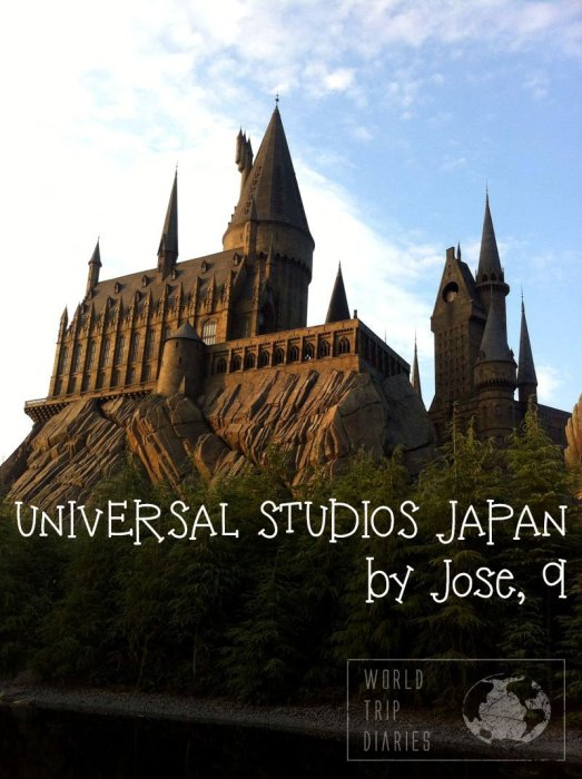 We visited Universal Studios Japan with our kids and here Jose (9) talks about his view on it!