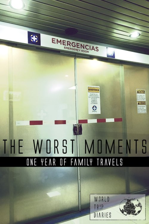 You can laugh now, but when bad stuff happen, it's not funny. If you travel long enough, they'll happen. Click to know our worst moments!