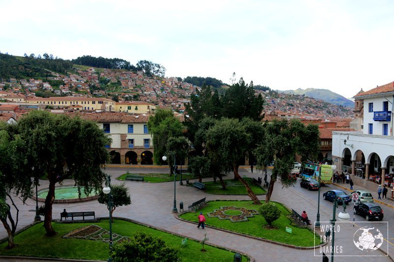 cusco plaza peru
