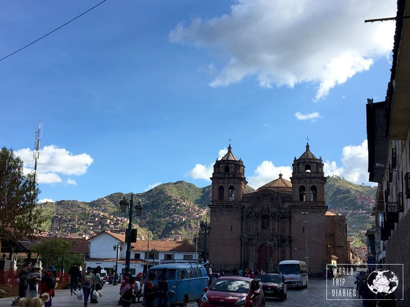 church Cusco peru