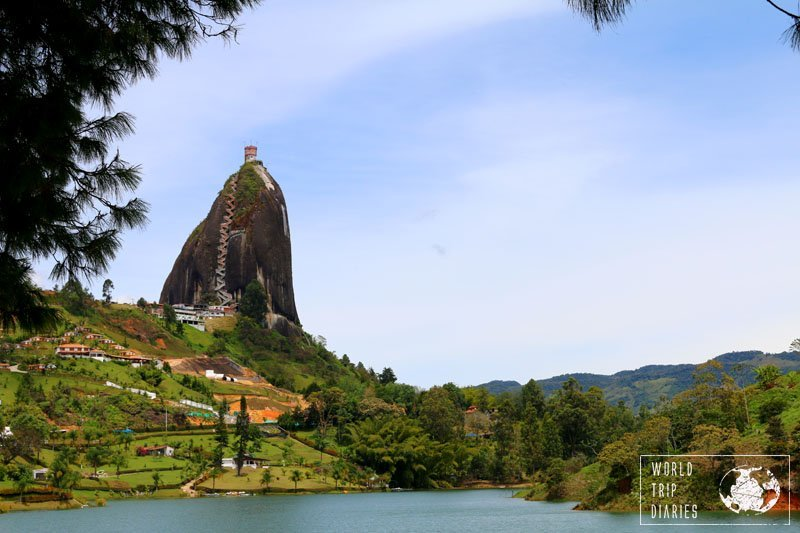 Guatapé and Peñol make a classic day trip from Medellin, Colombia. The whole family loved it!