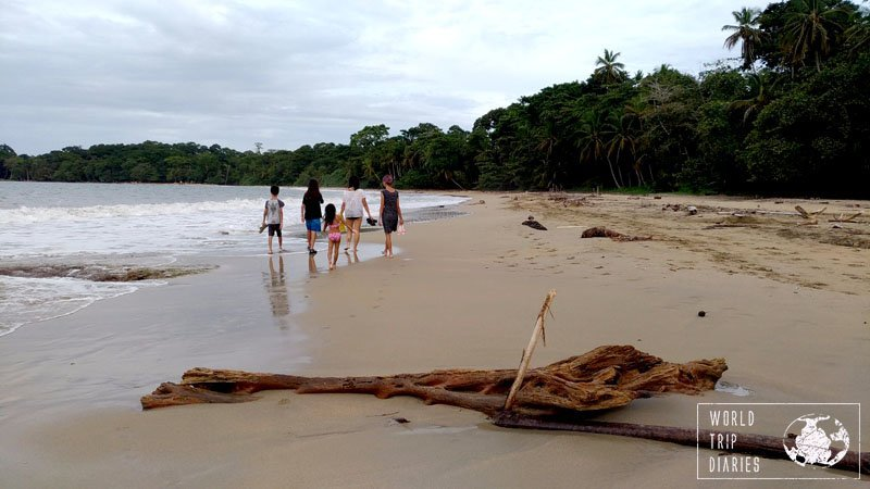 The beaches are so beautiful in Punta Uva! It was a great activity for all the family.