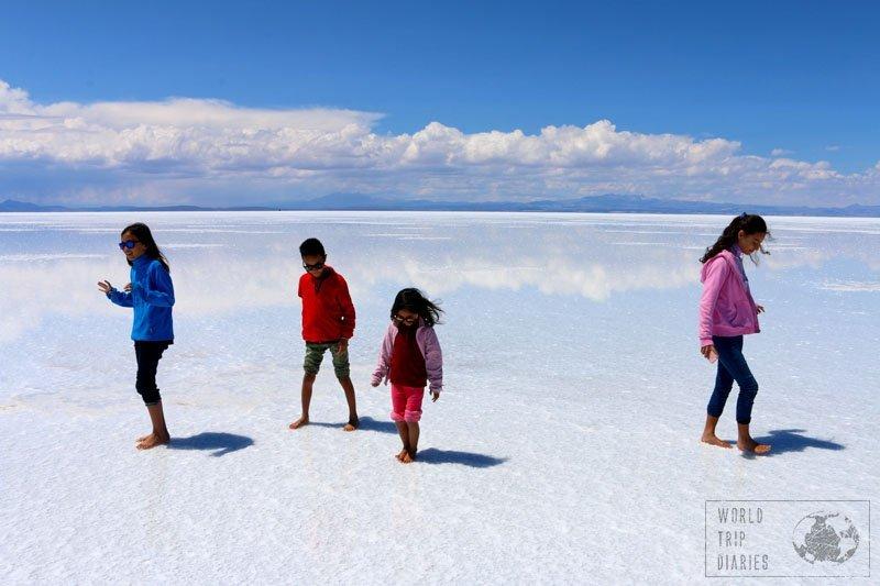 uyuni salt flats salar bolivia