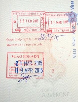 Visa Vietnamien & Laotien - www.worldtrips.fr