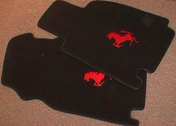 Carpet and Coco Floor Mats for Ferrari Cars from World