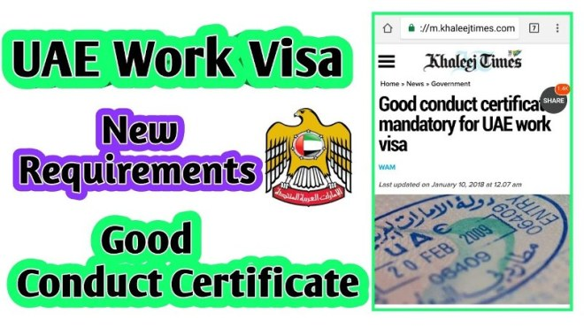 Tag: Good Conduct Certificate | World Visa News
