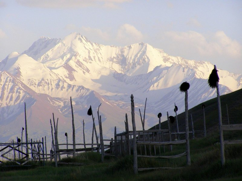 The Altai Mountains from Sary Tash